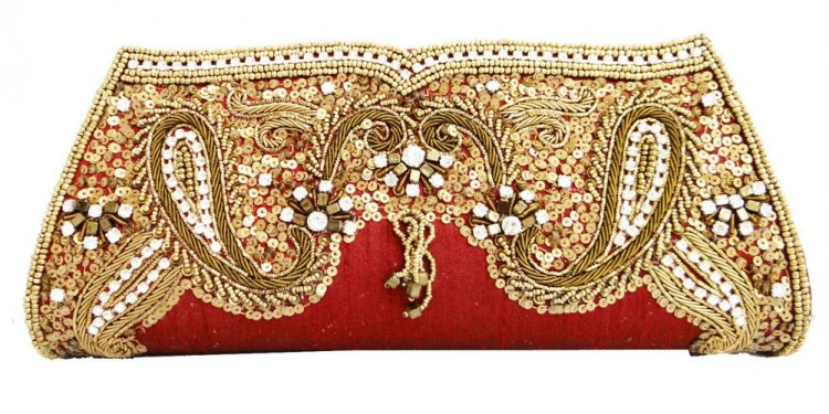 Bridal clutch purses