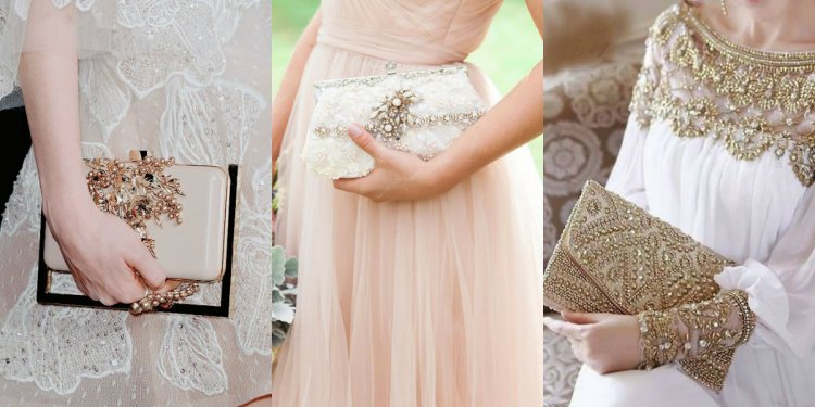Bridal clutch is the essential