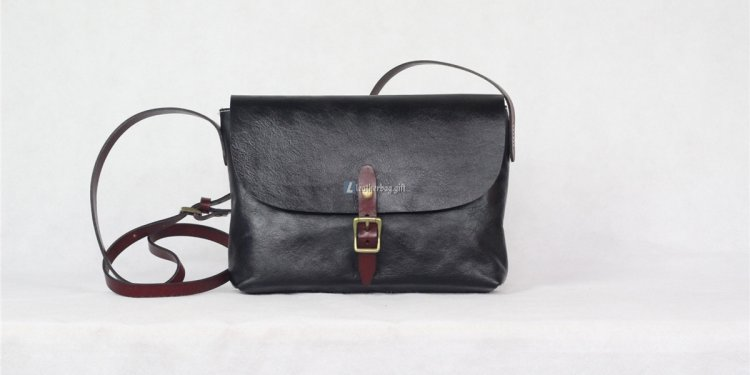 Leather Messenger Bag For