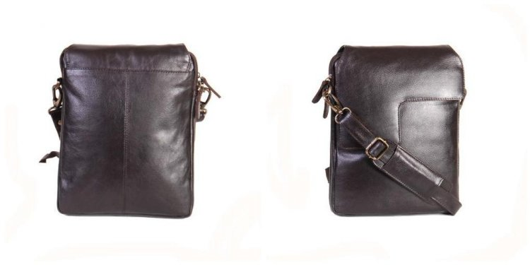 Mens Leather Cross Body