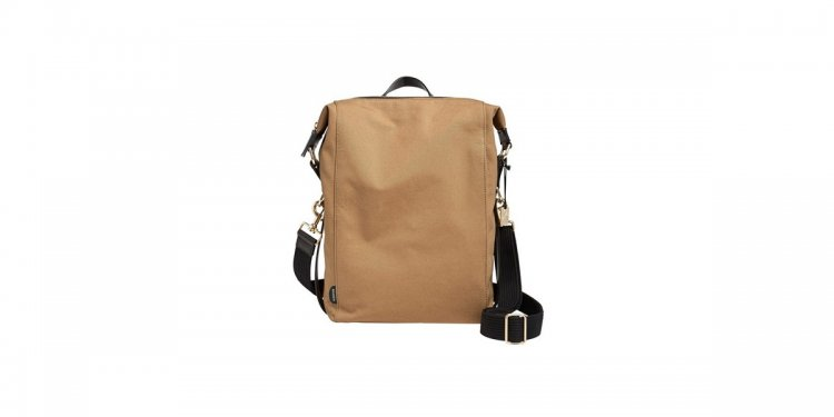 Coated Canvas Sling Bag in