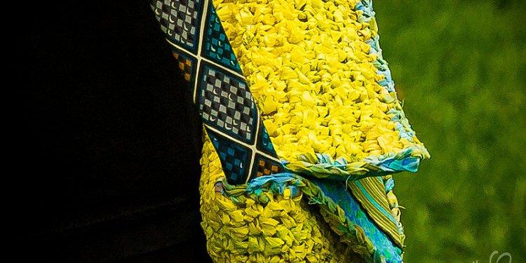 Eco Yellow Blue Trim Bag-11