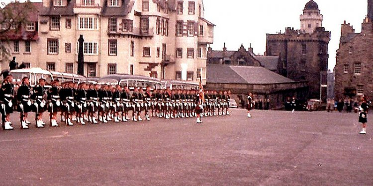 Gordon Highlanders, 1966 Edinburgh (1