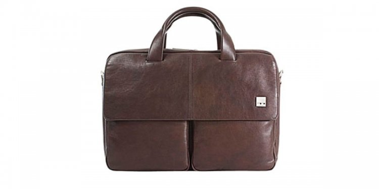 Mens Leather Computer Satchel