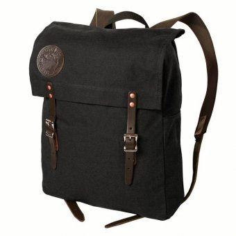 Duluth Packs Backpack black colored with fabric straps