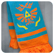 Hyrule Warriors Knit Scarf